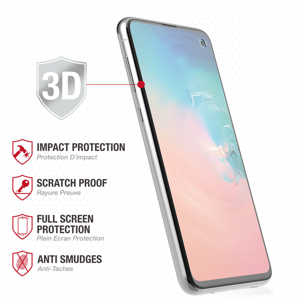 Full Edge Tempered Glass Protector / Samsung Galaxy S10e - Ballistic