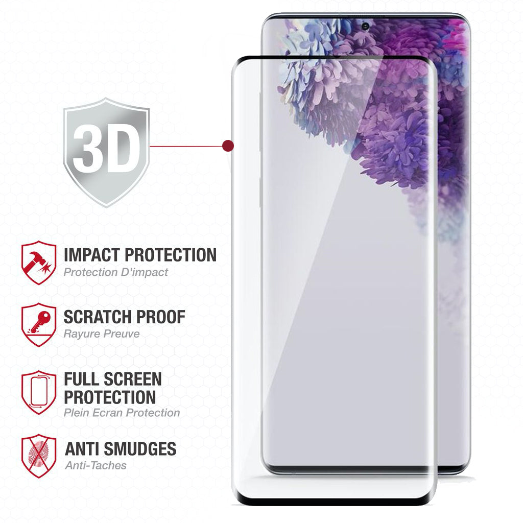 Full Edge Tempered Glass Protector / Samsung Galaxy S20 6.2 - Ballistic