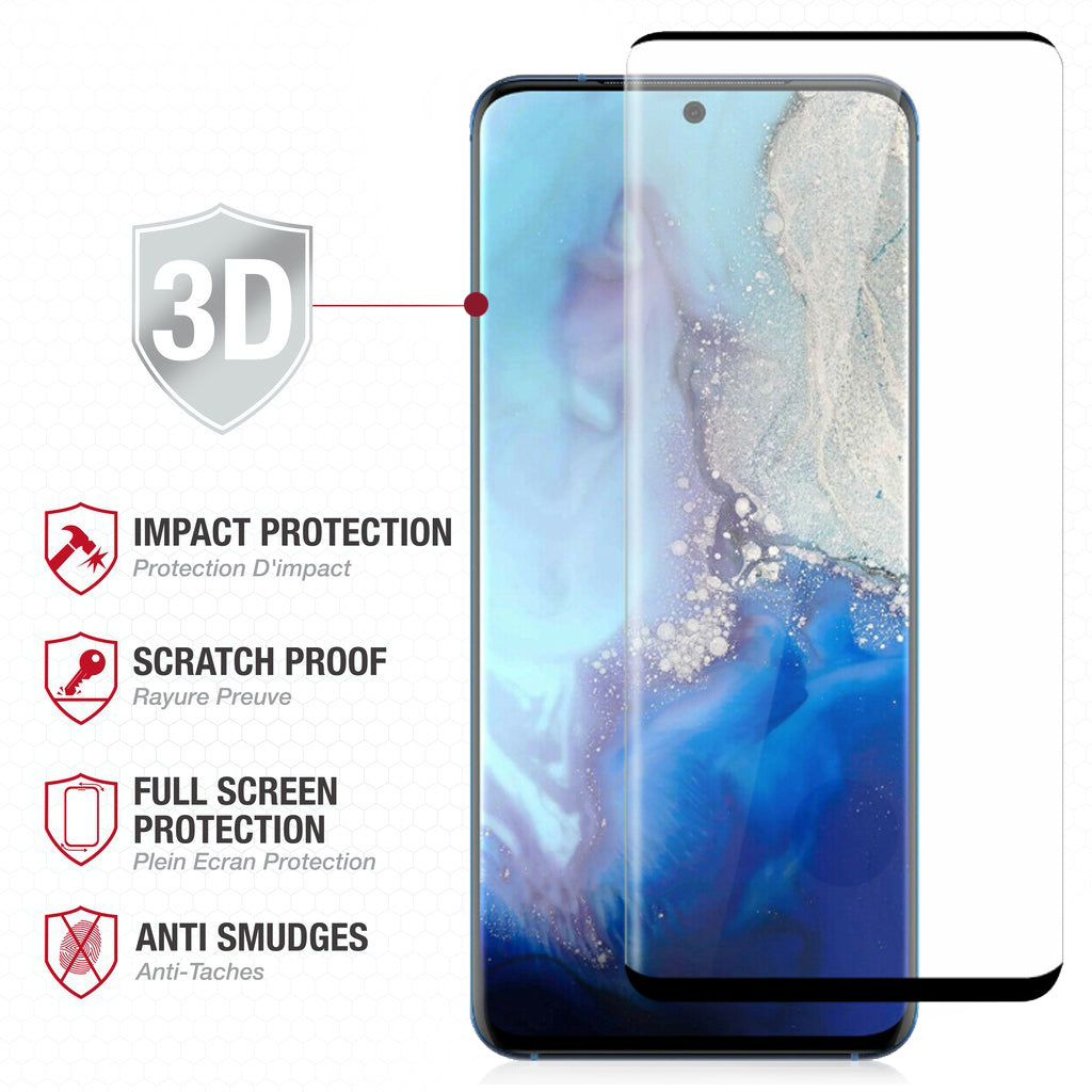 Full Edge Tempered Glass Protector / Samsung Galaxy S20 Plus 6.7 - Ballistic