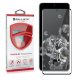 Full Edge Tempered Glass Protector / Samsung Galaxy S20 Ultra 6.9 - Ballistic