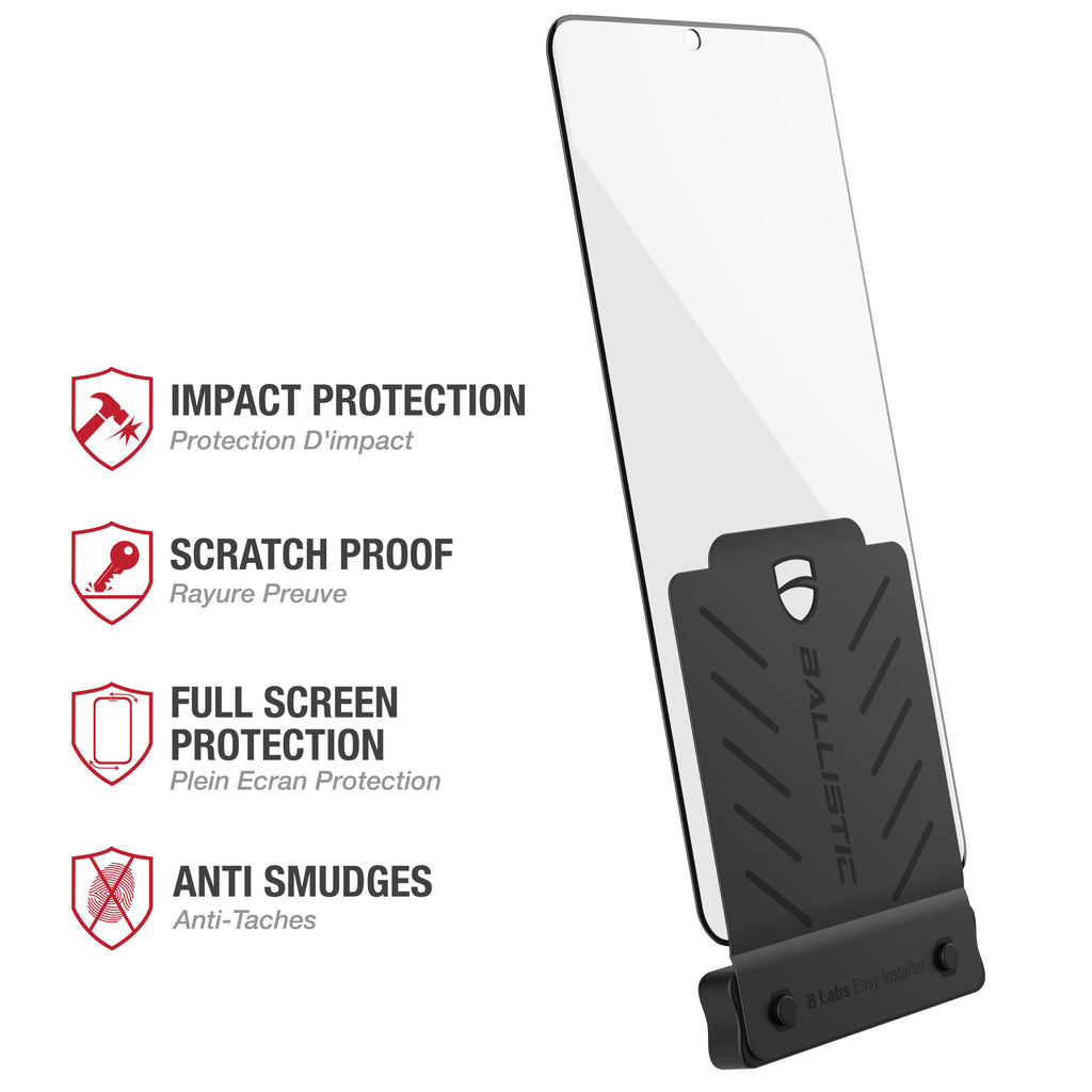 Full Edge Glass Screen Protector (Installation Tray) / Samsung Galaxy S20 6.2 - Ballistic