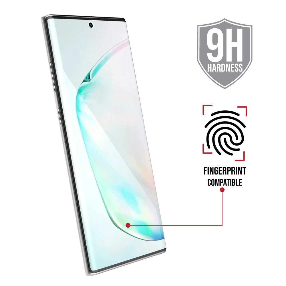 Full Edge Glass Screen Protector (W/Installation Tray) / Galaxy Note 10+ - Ballistic