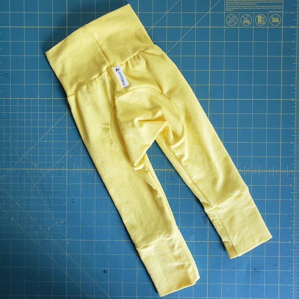 Yellow Monster Bunz Pants 3-18 months RTS