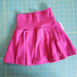 Magenta skirted bummies - size 3T RTS