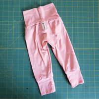 Monster Bunz pants Dusty Rose - size 0-6 months RTS