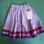 Light purple circle skirt - size 12-18 months RTS