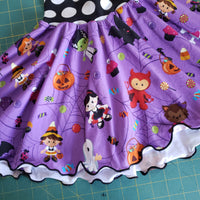Halloween Circle Skirt - size 3T RTS