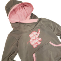 Little Elephant Grow with me hoodie