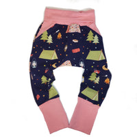 Happy Camper Grow with Me Harem Pants