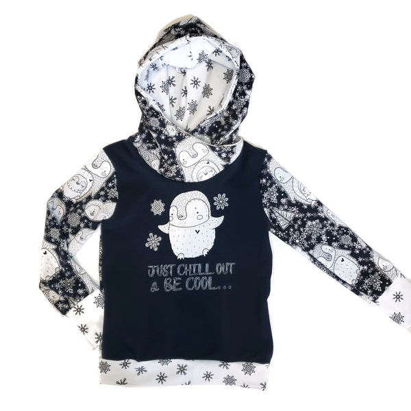 Penquin French Terry Hoodie 5-6 years RTS
