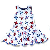 Pinwheel Isla Circle skirt Infinity Dress - 9-12 months RTS