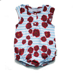 Poppy Bubble Romper Perfectly Imperfect 12-18 months RTS
