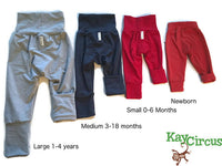 Grow with me Cloth diaper pants