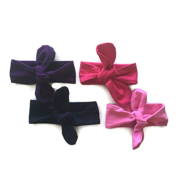 Adjustable Tie Knot Headband
