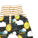You are my Sunshine grow with me harem pants and shorts