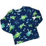 Turtles children's shirt Size 3T long sleeve RTS