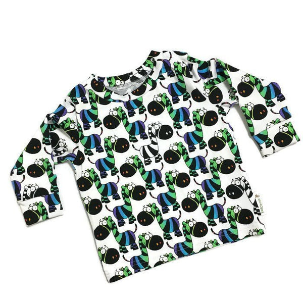 Zebra toddler shirt