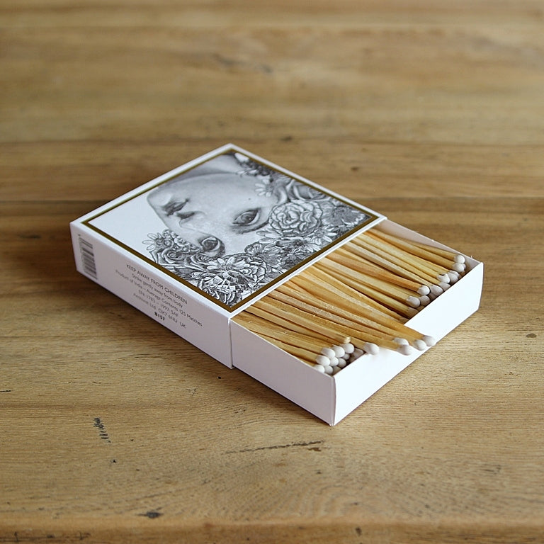 Letterpress Matchbox - Lady