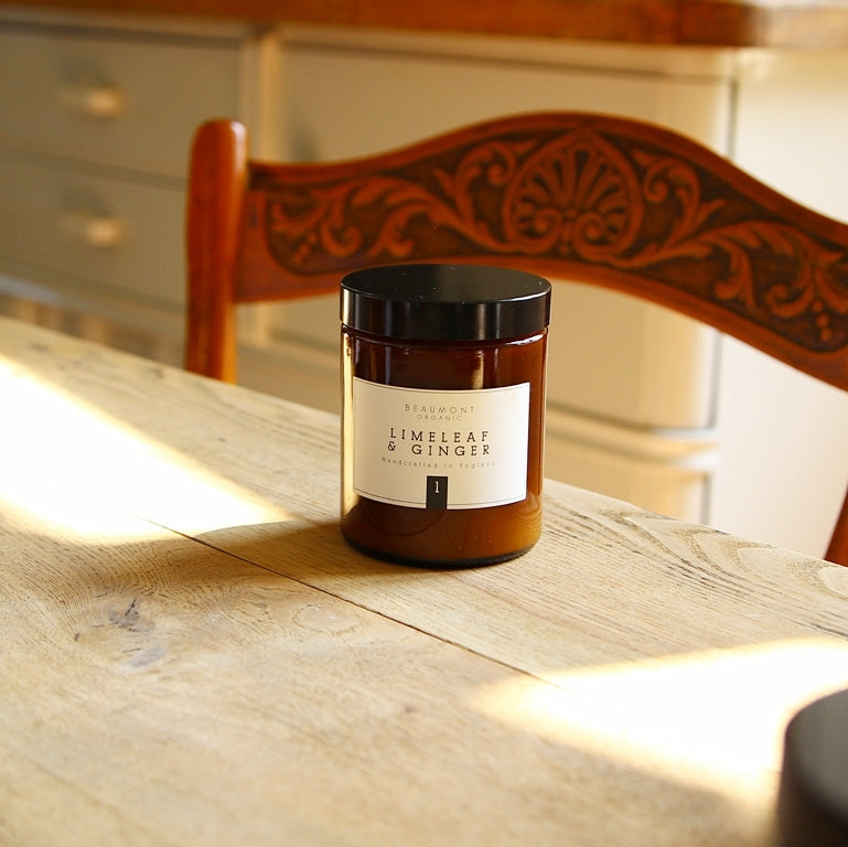 180ml Luxury Candle - Limeleaf and Ginger
