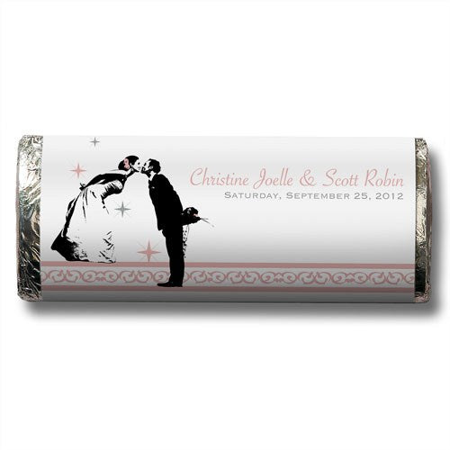 Fairytale Romance Personalized Chocolate Candy Bar Wedding Favor  -Personaliztion & Shipping Included - SIMPLY CHIC WEDDING STORE