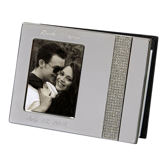Simply Chic Wedding Bling Collection Wedding Photo Album  -Personalization &  Shipping Included - SIMPLY CHIC WEDDING STORE