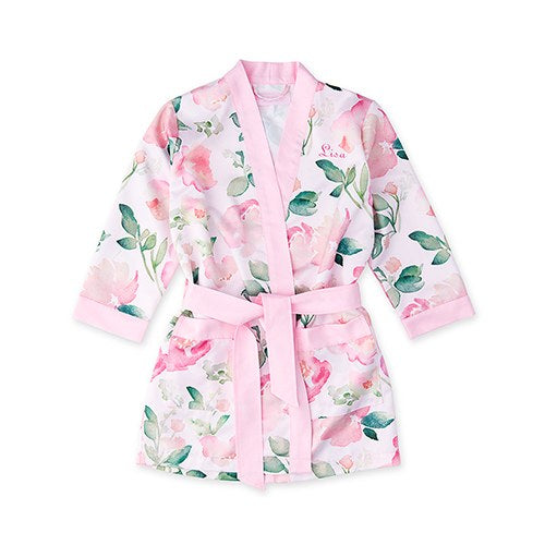 Wedding Day Flower Girl Kimono Robe - Shipping Included