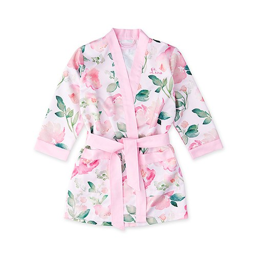 Wedding Day Flower Girl Kimono Robe - Shipping Included - SIMPLY CHIC WEDDING STORE
