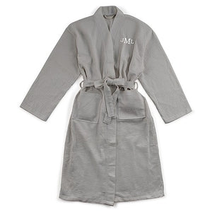 Simply Chic Wedding - Monogram Robe For The Groom