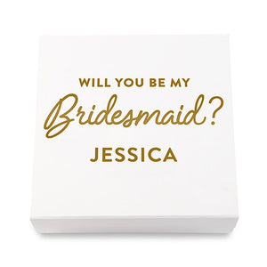 Simply Chic Wedding Personalized Bridesmaid Gift Box - Shipping Included - SIMPLY CHIC WEDDING STORE