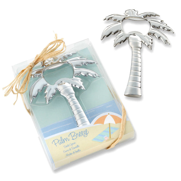 Simply Chic Wedding Breezy Palm Tree Bottle Opener Wedding Favor -Shipping Included - SIMPLY CHIC WEDDING STORE