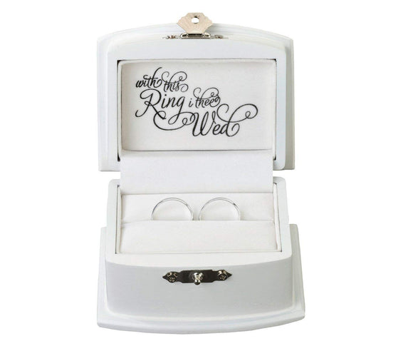 Simply Chic Wedding With This Ring Bearer Box -Shipping Included - SIMPLY CHIC WEDDING STORE