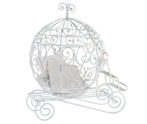 Fairytale Romance Wedding Carriage Reception Gift Card Holder -Shipping Included - SIMPLY CHIC WEDDING STORE