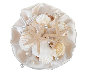 Simply Chic Wedding Beach Seashell Toss Bouquet -Shipping Included - SIMPLY CHIC WEDDING STORE