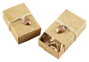 Simply Chic Wedding Fall In Love Favor Boxes Set of 24 -Shipping Included - SIMPLY CHIC WEDDING STORE