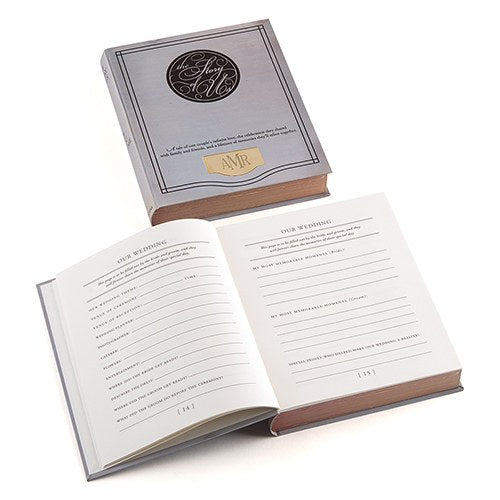 The Story Of Us Vintage Style Guest Book Alternative - Shipping Included - SIMPLY CHIC WEDDING STORE