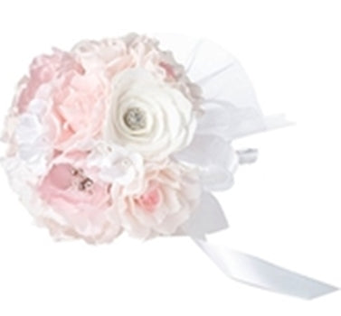 The Simply Chic Wedding Vintage Pearl Chic Toss Bouquet -Shipping Included - SIMPLY CHIC WEDDING STORE