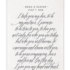 On This Day Wedding Ceremony Backdrop - SIMPLY CHIC WEDDING STORE