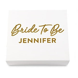 Simply Chic Wedding  Personalized Bride To Be Gift Box - Shipping Included - SIMPLY CHIC WEDDING STORE