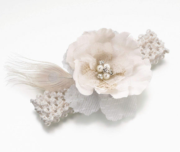 Simply Chic Wedding Burlap Chic Garter -Shipping Included - SIMPLY CHIC WEDDING STORE