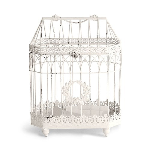 Vintage Style Birdcage Wedding Reception Card Holder -Shipping Included - SIMPLY CHIC WEDDING STORE