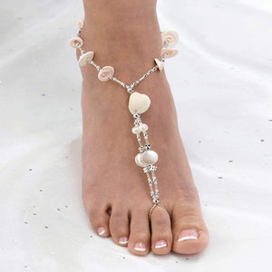 Simply Chic Wedding Beach Wedding Barefoot Bride Jewelry -Shipping Included - SIMPLY CHIC WEDDING STORE