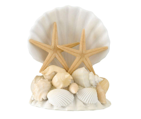 Simply Chic Wedding Beach And Destination Wedding Shell Cake Topper -Shipping Included - SIMPLY CHIC WEDDING STORE