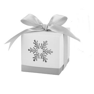 Simply Chic Wedding Winter Wonderland Favor Box Set of 24 -Shipping Included - SIMPLY CHIC WEDDING STORE