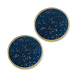 A Starry Night Wedding Coaster Favor Set - Shipping Included - SIMPLY CHIC WEDDING STORE
