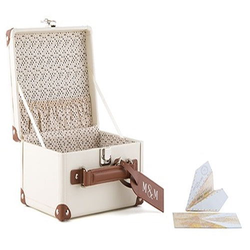 Vintage Style Suitcase Wedding Reception Card Holder -Shipping Included - SIMPLY CHIC WEDDING STORE