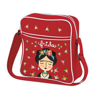 Red Frida Kahlo Bag for Girl