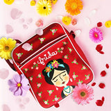Hand Painted Frida Kahlo Messenger bag for girl fridamania fridalovers