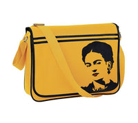 Frida Kahlo Retro Messenger Bag
