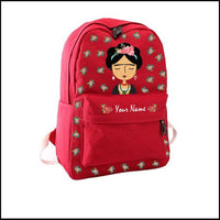 Personalized Frida Kahlo Bag - Frida Backpack