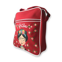 Retro Style Frida Kahlo Bag Hand Painted